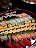 元旦はお寿司で始まる